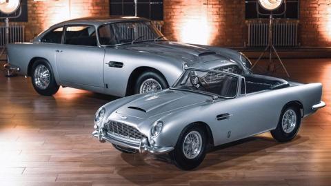 Aston Martin DB5 niños