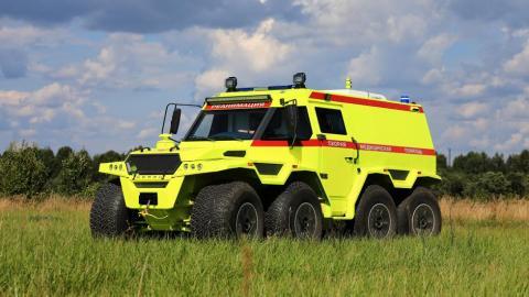 Avtoros Shaman ambulancia