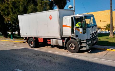 Camión Camuflado Guardia Civil
