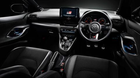 Detalles del Toyota Yaris GR 2020