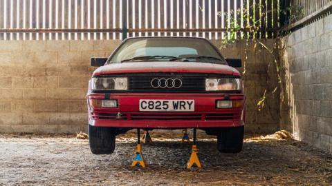 Galería: Audi Quattro abandonado