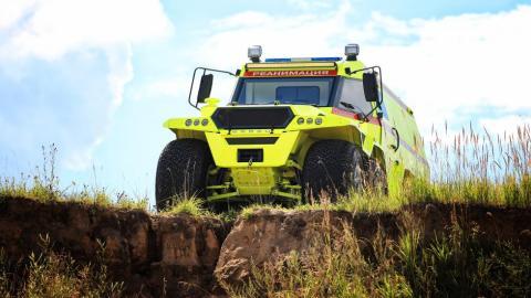 Galería: Avtoros Shaman ambulancia, por fuera y por dentro