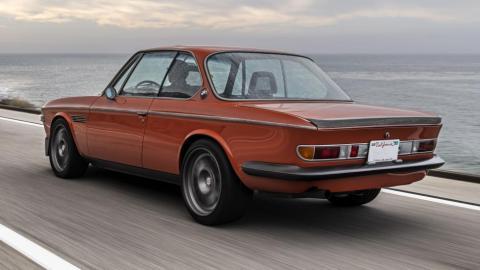 Galería: BMW 3.0 CS restomod de Iron Man