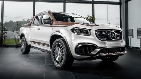Galería: Mercedes Clase X Yatching Design