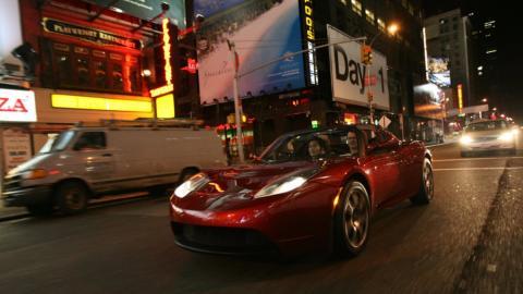 Galería: primer Tesla Roadster