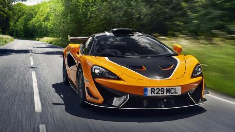 Galería: prueba McLaren 620R