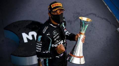 Hamilton récord F1