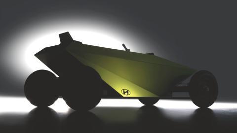 coche sin motor juguete futuro competicion