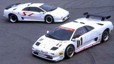 Lamborghini Diablo SV-R y GTR