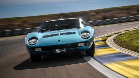 Lamborghini Miura coche más rápido del mundo