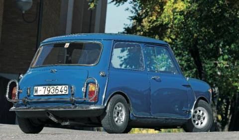 Mini Morris 1275C del Rey Juan Carlos I