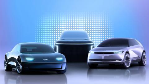 Modelos Ioniq de Hyundai.