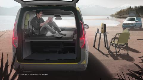 Nuevo Volkswagen Caddy Camper