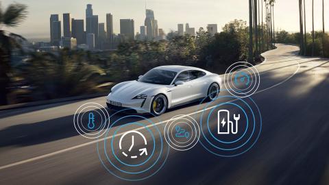 Porsche Taycan actualizacion