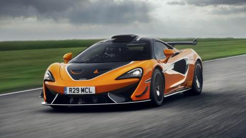 Prueba McLaren 620R