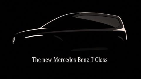 Una nueva furgoneta compacta y recreativa de Mercedes