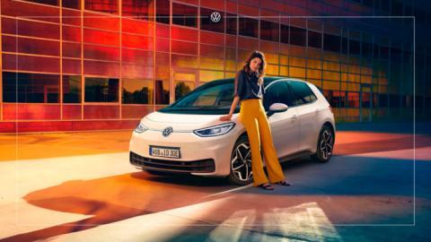 Volkswagen ID.3 online renting