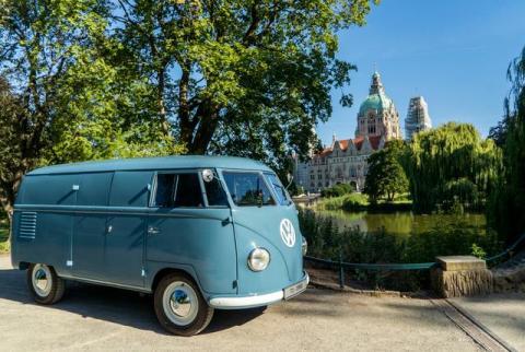 Volkswagen Transporter 70 anos