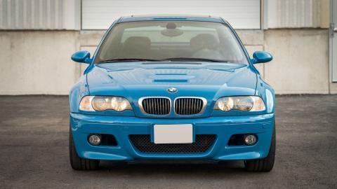 BMW M3 E46 Laguna Blue