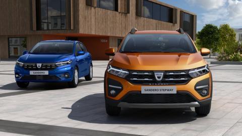 Dacia Sandero evolución