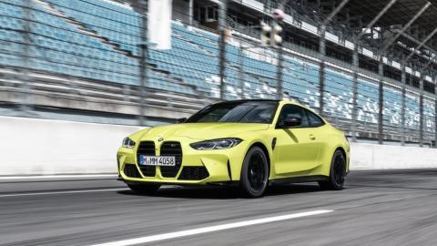 Galería: BMW M4 Competition 2021