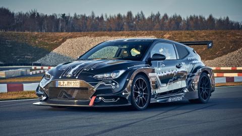 superdeportivo deportivo electrico corea prototipo futuro