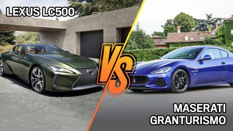Lexus LC 500 vs Maserati GranTurismo