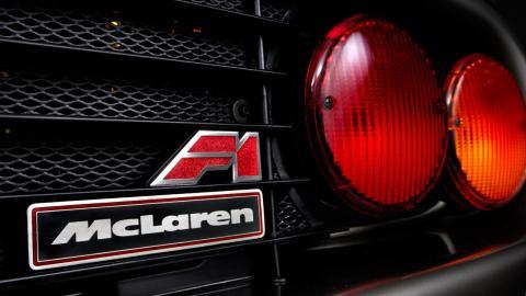 Logo del McLaren F1 de Gordon Murray