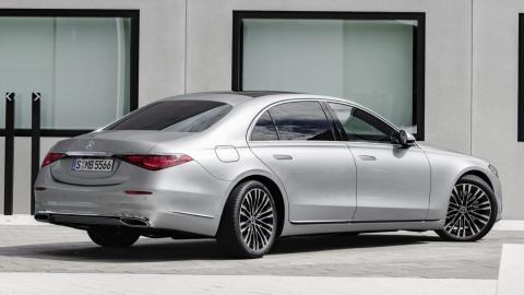 Mercedes Clase S 2021 giro ruedas traseras