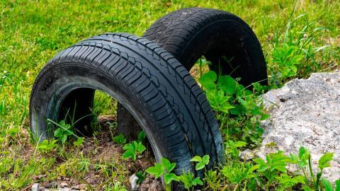 Neumáticos cristalizados