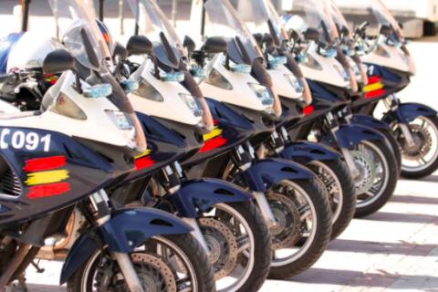 Nuevas motos Policía