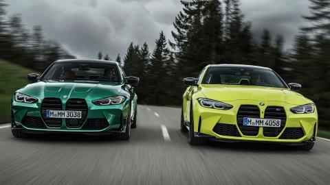 nuevos colores del BMW M3 2021