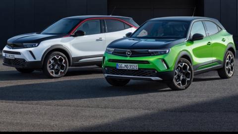 Opel Mokka 2021 y Opel Mokka eléctrico