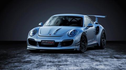 Porsche 911 GTR 8XX EVO-R Biturbo de Gemballa