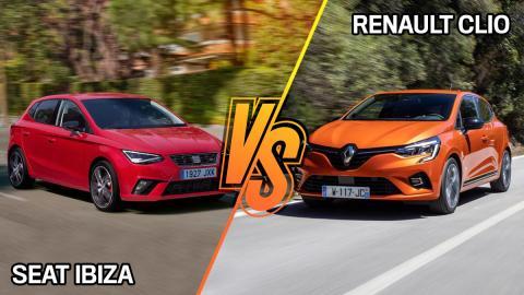 Renault Clio vs Seat Ibiza