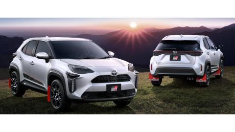 Toyota Yaris Cross con accesorios Gazoo