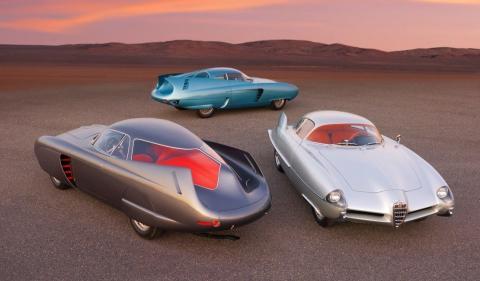 prototipos lujo clasicos aerodinamica 50 subasta