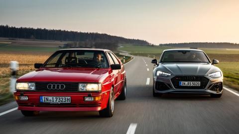 Audi quattro 40 aniversario