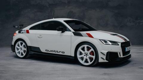 Audi TT RS 40 años quattro