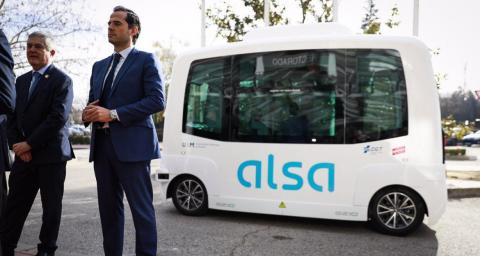 Autobús autónomo Madrid