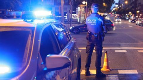 Control informativo de la Policía por confinamiento