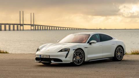 Datos más salvajes del Porsche Taycan