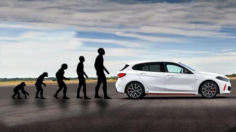La evolución del BMW 128 ti