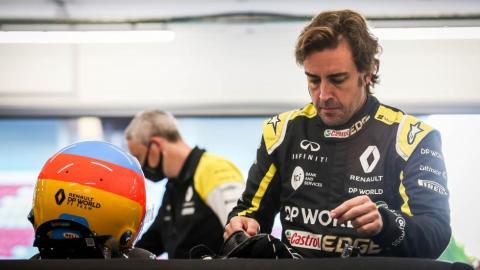 Galería: Alonso test Renault en Montmeló 2020