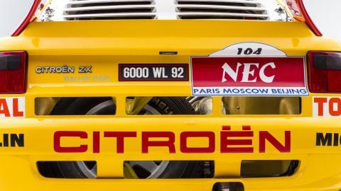 Galería: detalles del Citroën ZX Rally-Raid