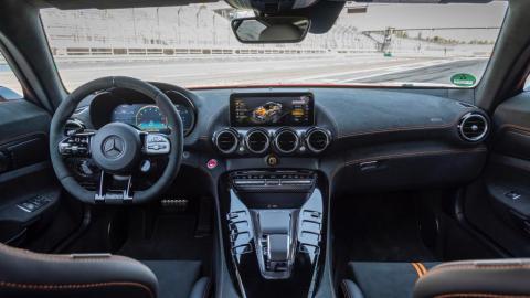 Galería: interior del Mercedes AMG GT R Black Series