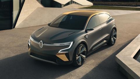 Galería: Renault eVision Concept - Mégane eléctrico