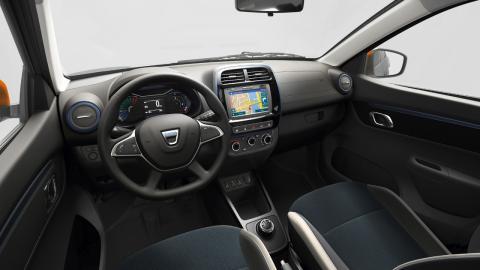 Interior del Dacia Spring 2021