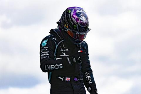 Lewis Hamilton en el GP Eifel de F1 2020