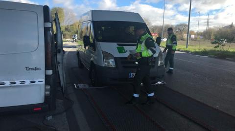 Esta es la nueva campaña de la DGT para vigilar furgonetas